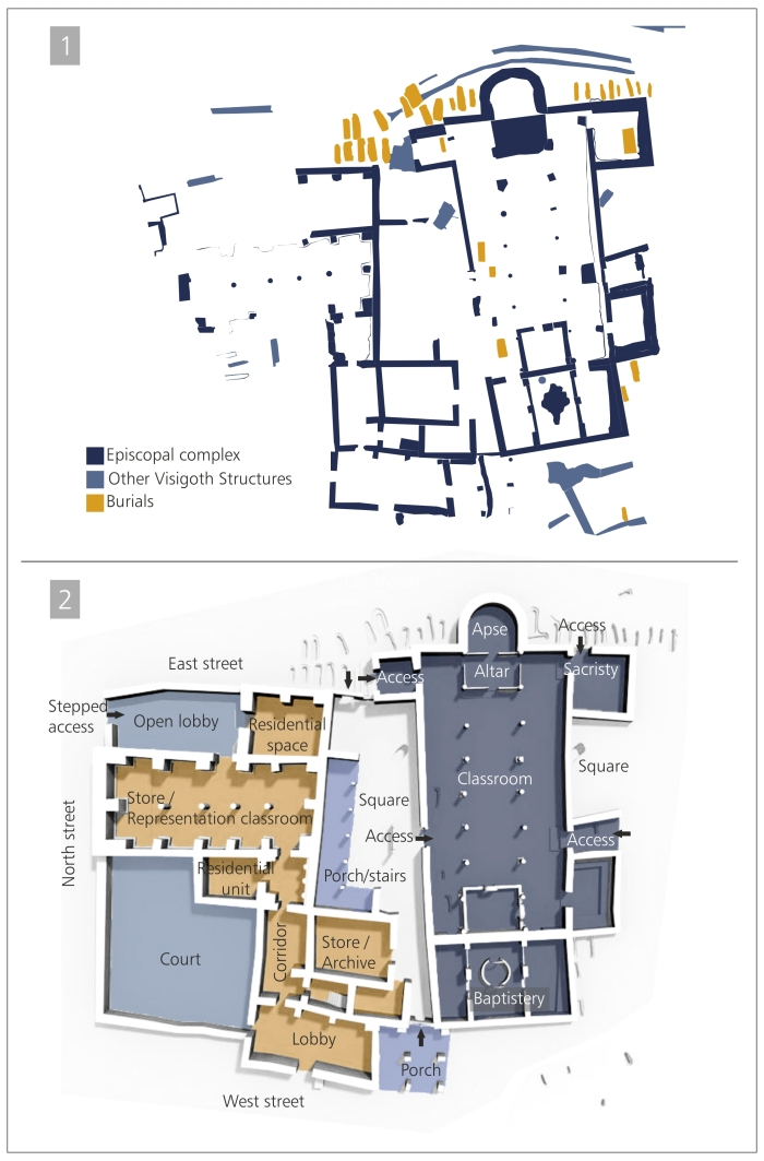 Amorós Ruiz, et al, Buildings of the Visigothic elites - Visigothic Symposium 2 (2017), 34-59, Fig_2.jpg