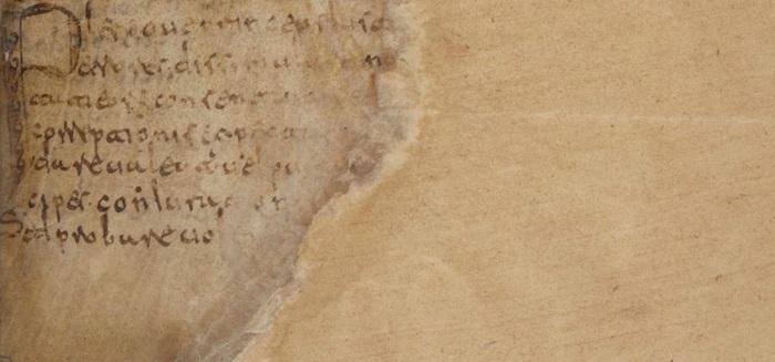 Fig. 6 - BNF_4667, f. 1r bottom copy